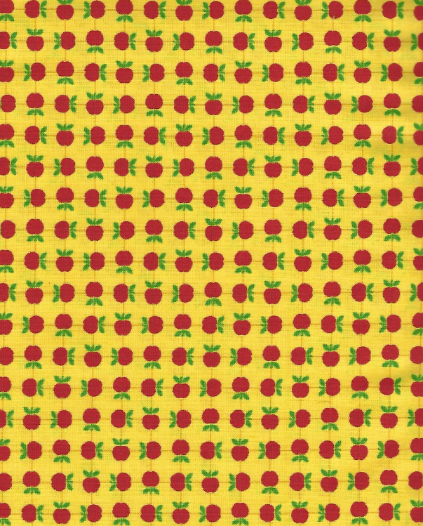 Apple Jack, Yellow 39513-17 - Fabrics N Quilts