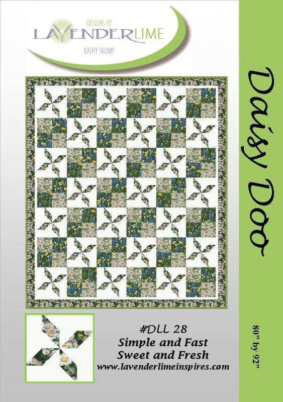 Daisy Doo Quilt Pattern, Lavender Lime Designs - Fabrics N Quilts