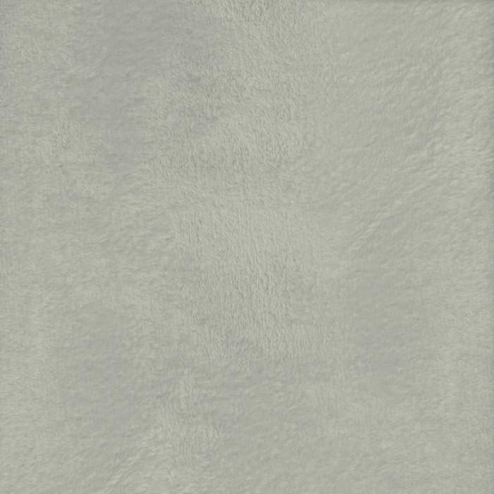 "Heavenly Plush Solid Light Grey, 60"" x 72"" Minky - Fabrics N Quilts"