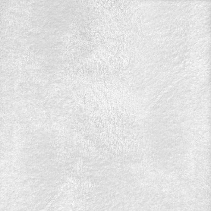 "Heavenly Plush Solid White, 60"" x 72"" Minky - Fabrics N Quilts"