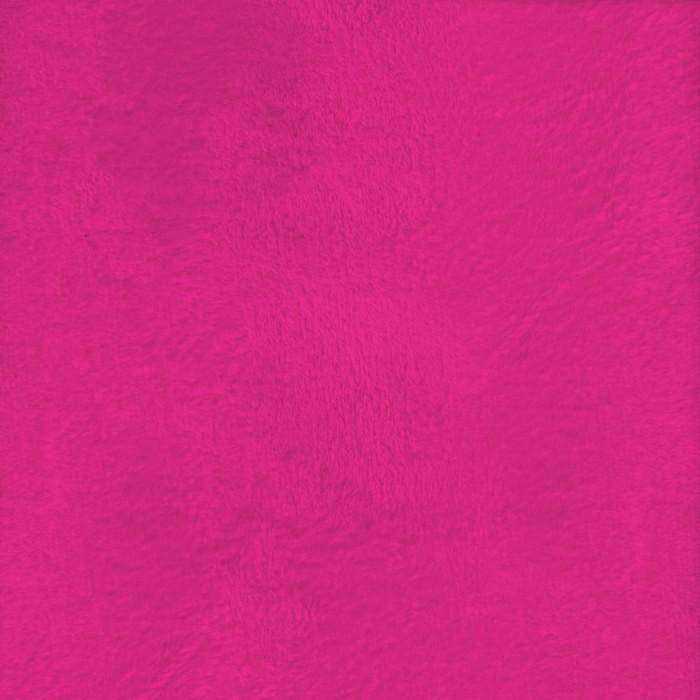 "Heavenly Plush Solid Hot Pink, 60"" x 72"" Minky - Fabrics N Quilts"