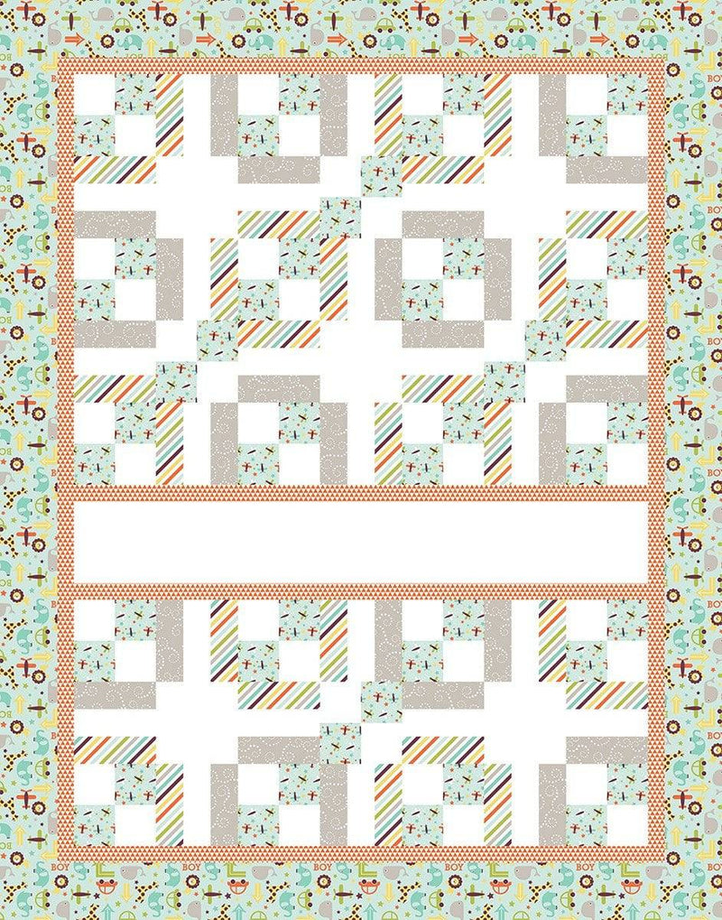 Express Yourself Digital Quilt Panel Oh Boy - Fabrics N Quilts