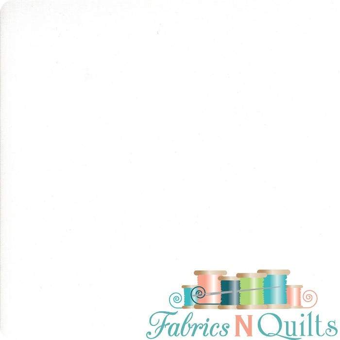 Bella Solid, White PDF 9900-97 - Fabrics N Quilts