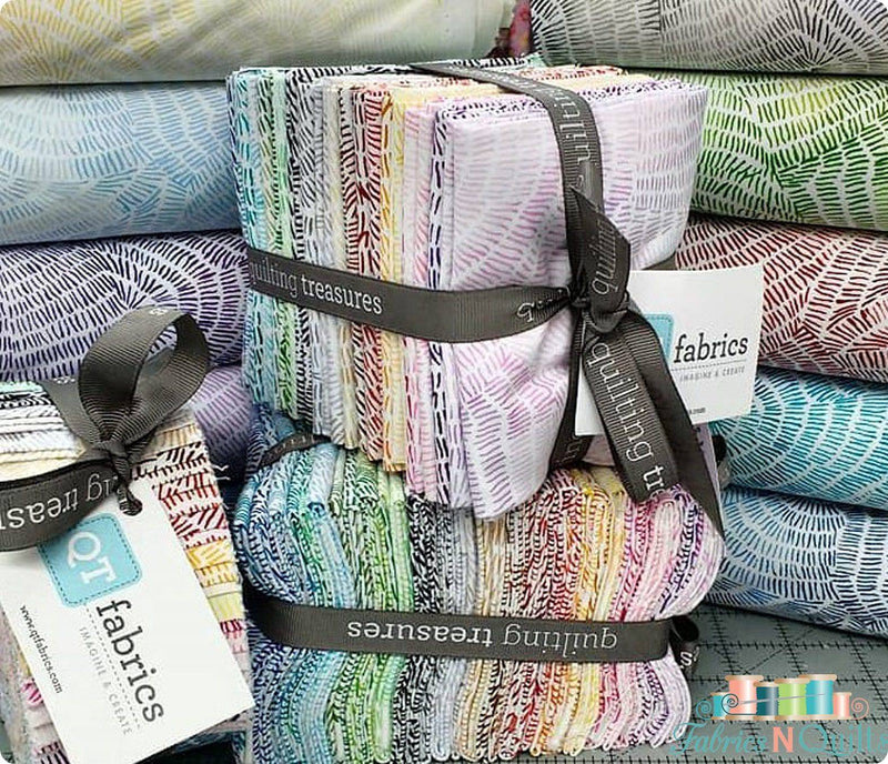 Ombre Stitches Fat Quarter Bundle 20 FQ 25974 - Fabrics N Quilts