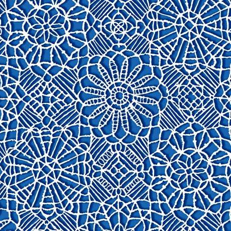 Amazing Lace, Royal Blue 24632-Y - Fabrics N Quilts