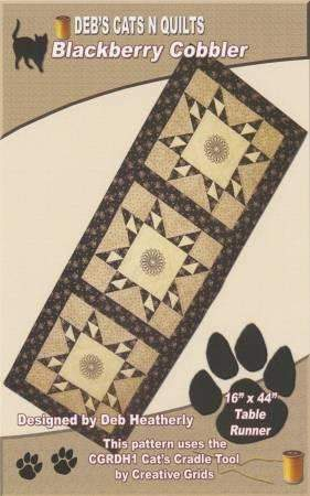 Blackberry Cobbler Pattern by Deb's Cats N Quilts - Fabrics N Quilts