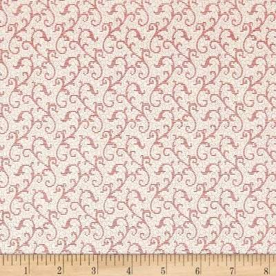 Windsor Scroll Cream Red, 24542-ER - Fabrics N Quilts