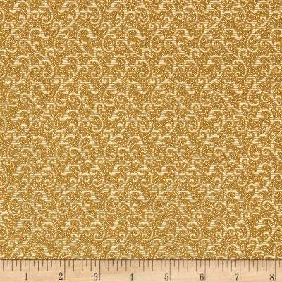 Windsor Scroll Dark Gold,  24542-S - Fabrics N Quilts