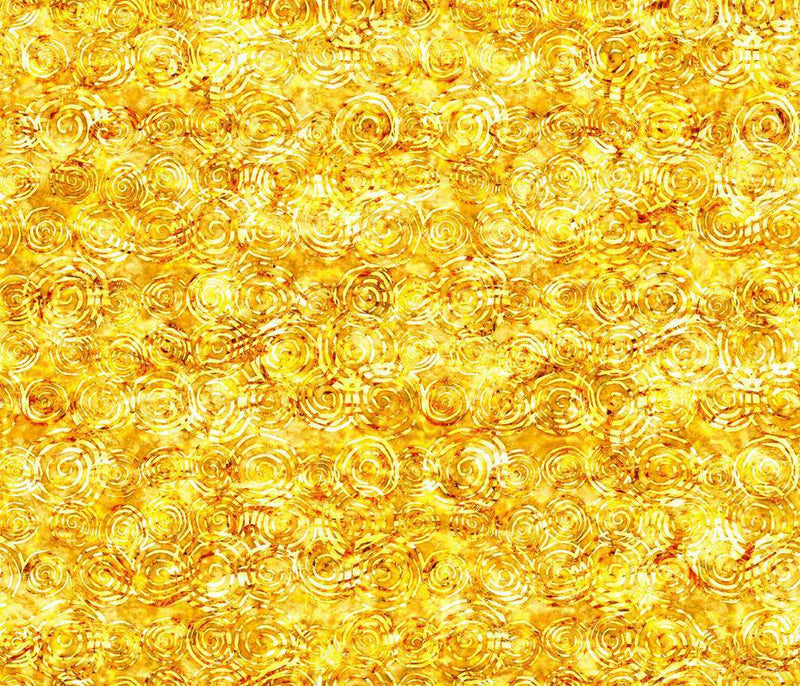 Radiance, Scroll Yellow 27099 S - Fabrics N Quilts