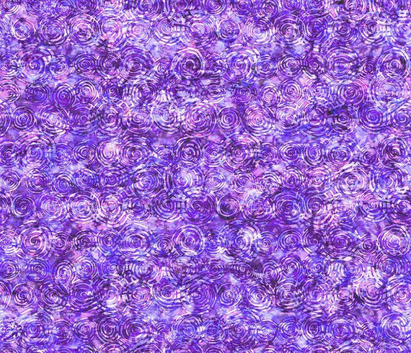 Radiance, Scroll Purple 27099 V - Fabrics N Quilts