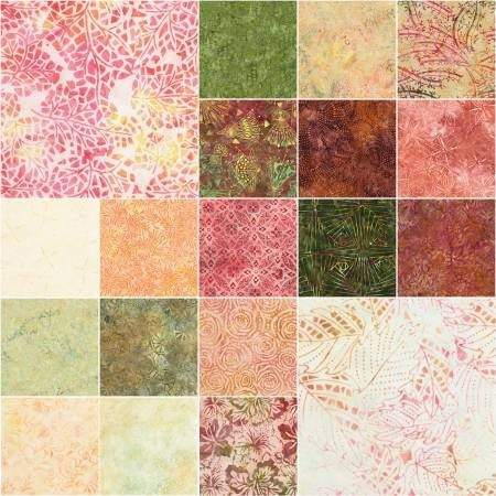 Posey, Tonga Treats Batik Junior Jelly Roll - Fabrics N Quilts