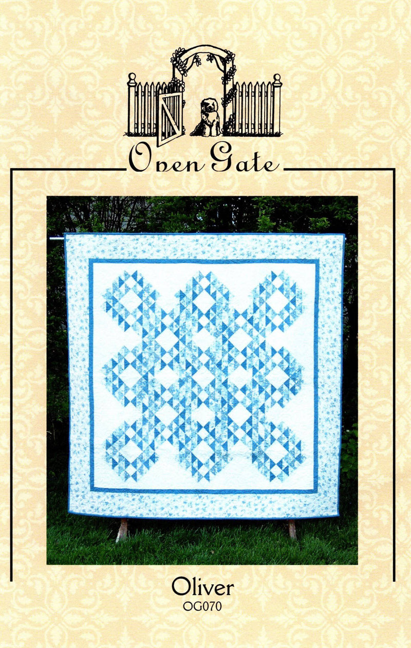 Oliver Quilt Pattern, Open Gate Quilts - Fabrics N Quilts