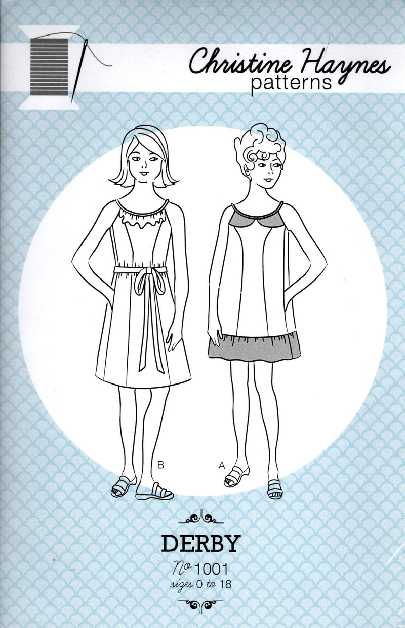 Derby A-Line Sundress Pattern, Size 0-18 - Fabrics N Quilts