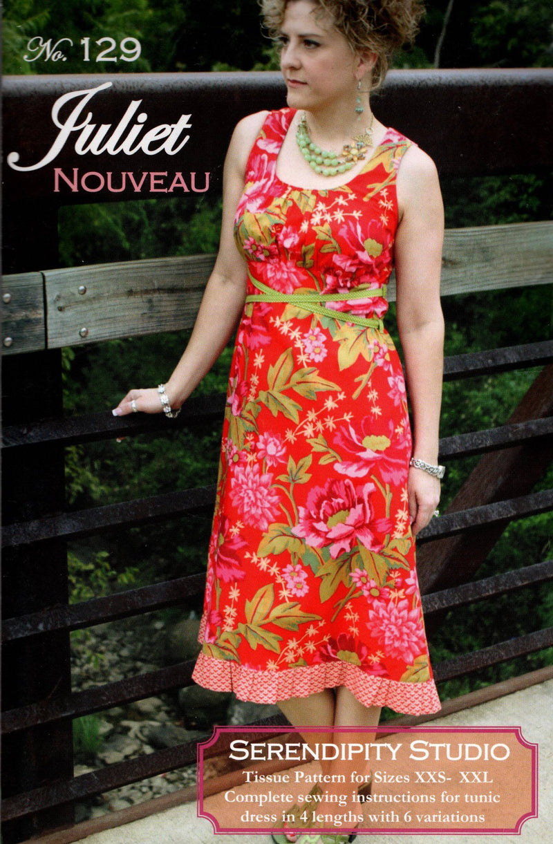 Juliet Nouveau Dress Pattern, Serendipity Studio - Fabrics N Quilts