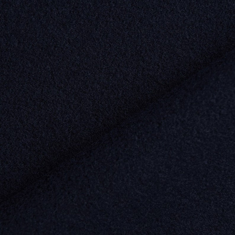 Wool 1 Yard Moda Navy Blue Solid 54810 - Fabrics N Quilts