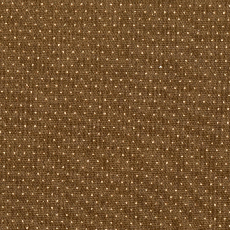 Paintbrush Essentials Primitive Brown Micro Dot 120-121181 - Fabrics N Quilts