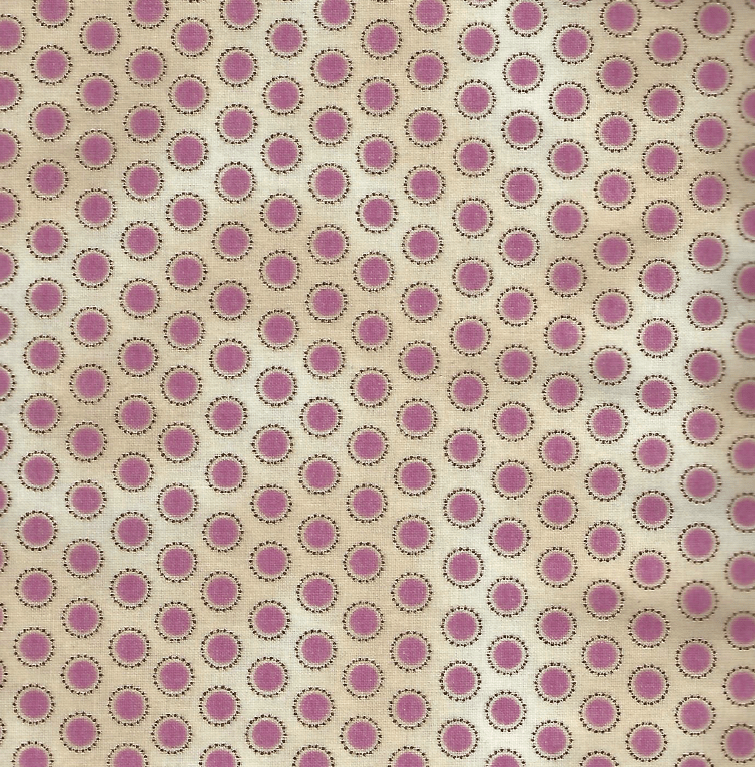 Penny Lane, Pink Textured Circles PL-9032-0C - Fabrics N Quilts