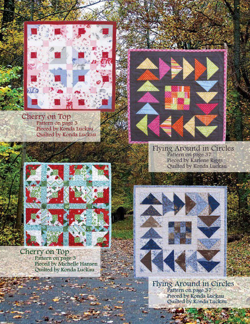 Simply Charming Minis, Moose on the Porch Quilts - Fabrics N Quilts