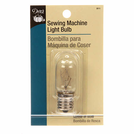 Sewing Machine Screw-in Light Bulb - Fabrics N Quilts