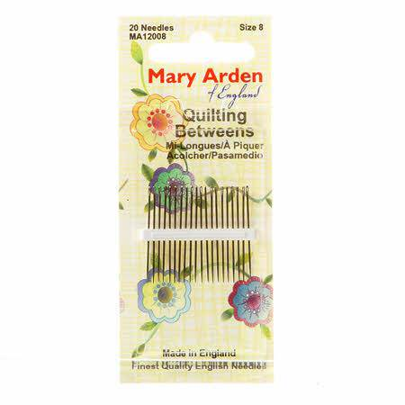 Mary Arden Size 8 Quilting Between Needles - Fabrics N Quilts