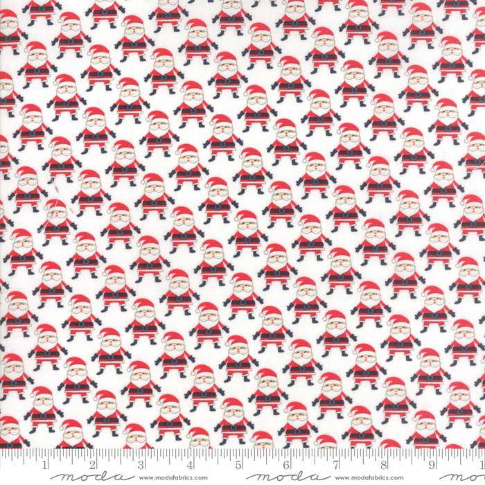 The North Pole Santa Snow White 20583-11 1 yard - Fabrics N Quilts
