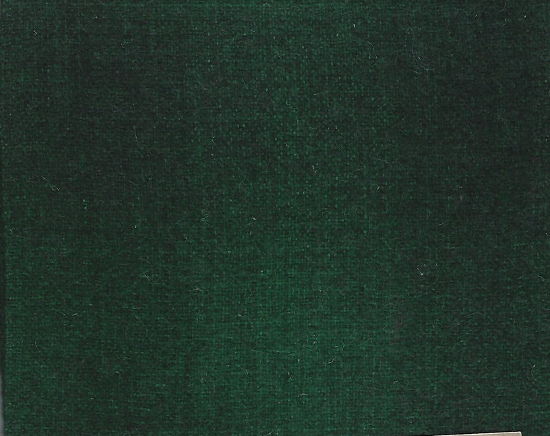 Hand Dyed Wool Fat Eighth Forest Green Plaid - Fabrics N Quilts