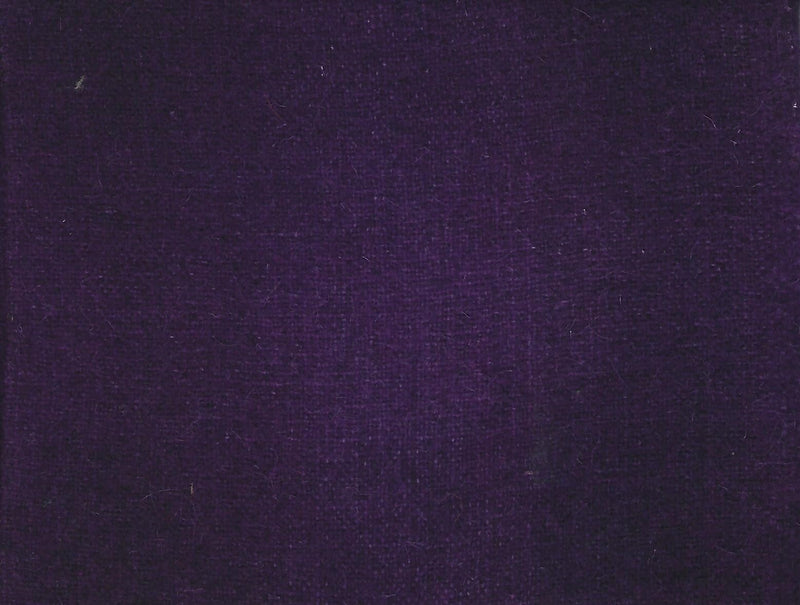 Hand Dyed Wool Fat Eighth Purple Plaid - Fabrics N Quilts