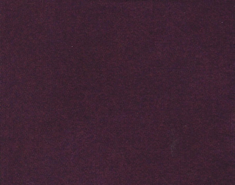 Hand Dyed Wool Fat Eighth Dark Wine Marbled Solid - Fabrics N Quilts