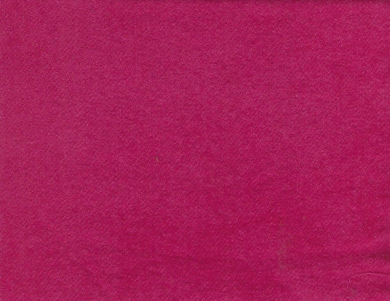 Hand Dyed Wool Fat Eighth Bright Rose Pink Solid - Fabrics N Quilts