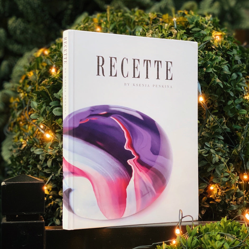 Book: RECETTE by Ksenia Penkina