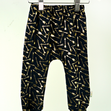 Load image into Gallery viewer, Gold Arrows on Navy - Child and Baby Leggings
