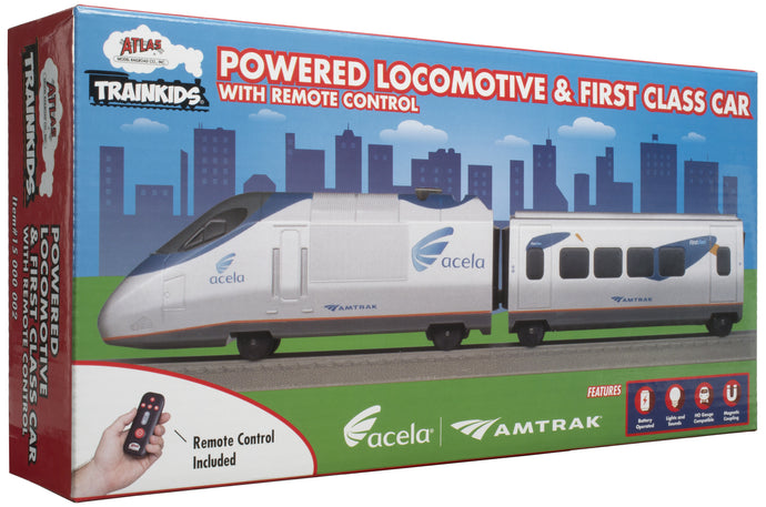 Atlas Trainkids Locomotive & Car Add-On Kit w/Remote