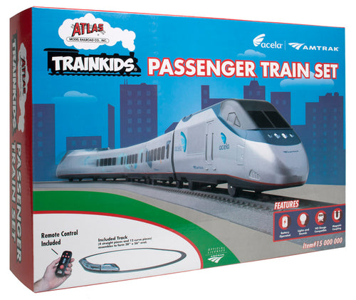 Atlas Trainkids Passenger Train Set.