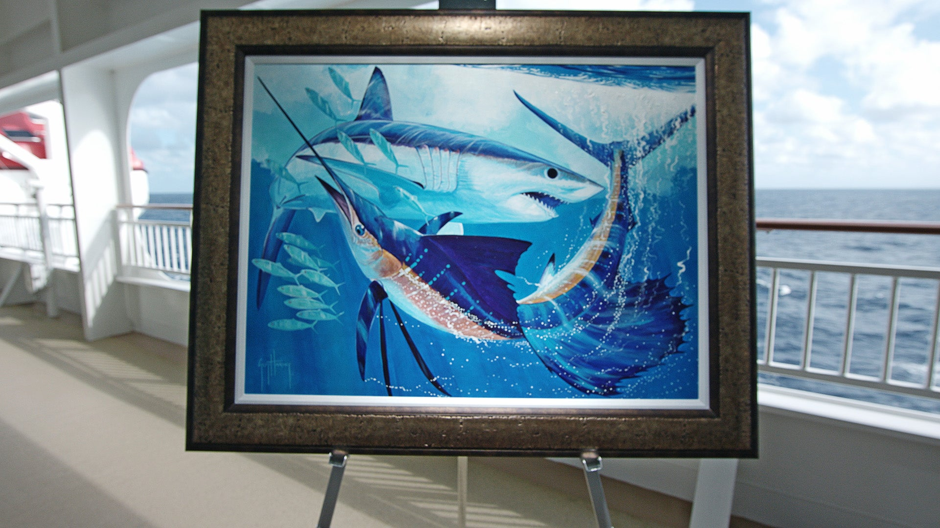 Original painting by Guy Harvey