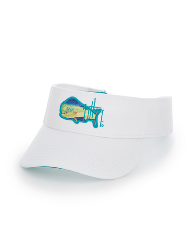 Guy Harveys Boy's Core Mahi-Logo Visor with Sweatband