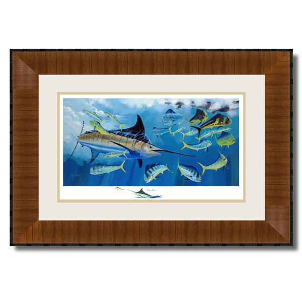LOG JAM AP FRAMED