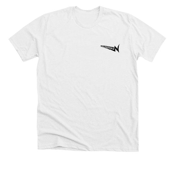 BROKEN TV TEE (WHITE)