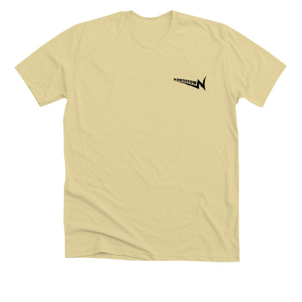 BROKEN TV TEE (YELLOW)