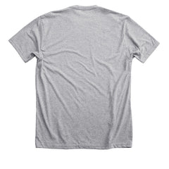 KURTISTOWN SCRIPT DARK GREY HEATHER TEE