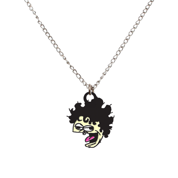 KC Cartoon Enamel Necklace