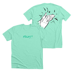 Folks Mint Tee