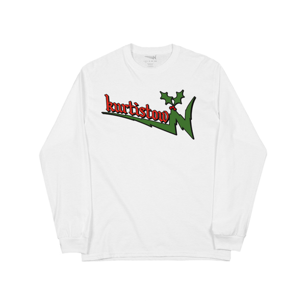 HOLIDAY KURTISTOWN WHITE LONG SLEEVE