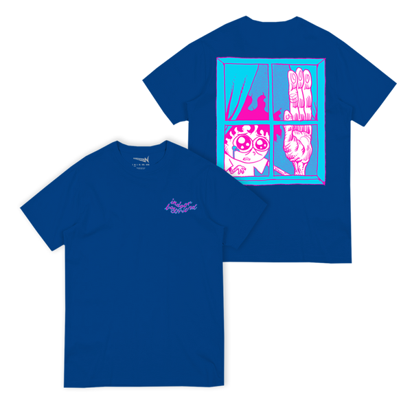 "Kurtis Conner ""Indoor Boyfriend"" Blue Tee"