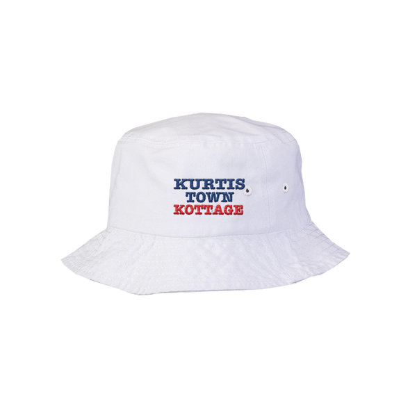 Kurtistown Kottage White Bucket Hat