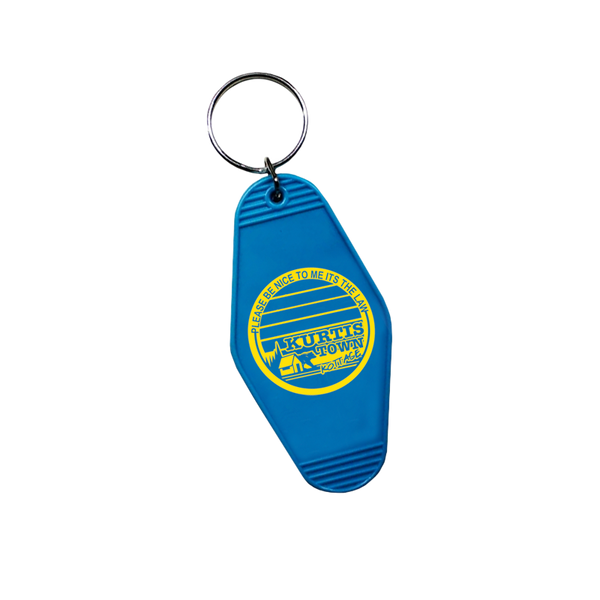 Kurtistown Kottage Blue Keychain