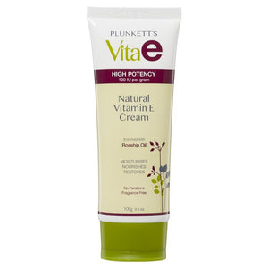 Skin Care, Natural Vitamin E Cream 100g