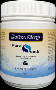 Detox, Liver & Kidneys, Pure South Mineral/Detox Clay Powder 300g