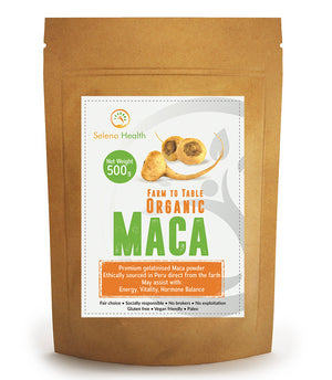 Weight Management & Metabolic Syndrome, Seleno Health Organic Maca 500g