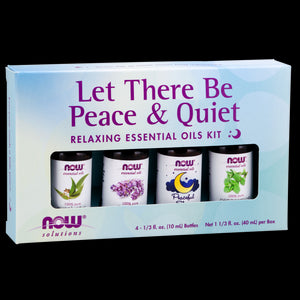 Essential Oils, Peace & Quiet Relaxing Essential Oils Kit