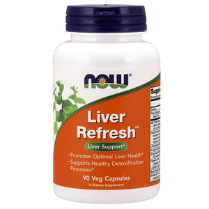 Detox, Liver & Kidneys, Now Foods Liver Refresh 90Vcaps